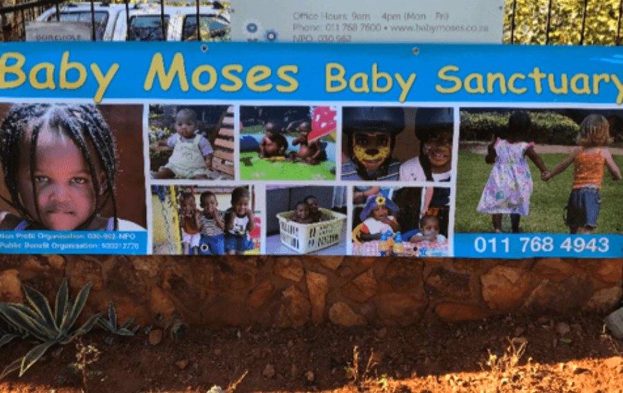 baby moses august sign